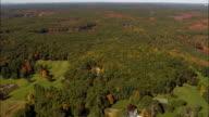 Punkatasset Hill  - Aerial View - Massachusetts,  Middlesex County,  United States video