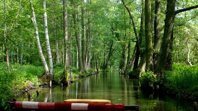 punt trip through the forest, Brandenburg video