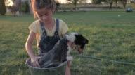 Puppy's Bath Time video