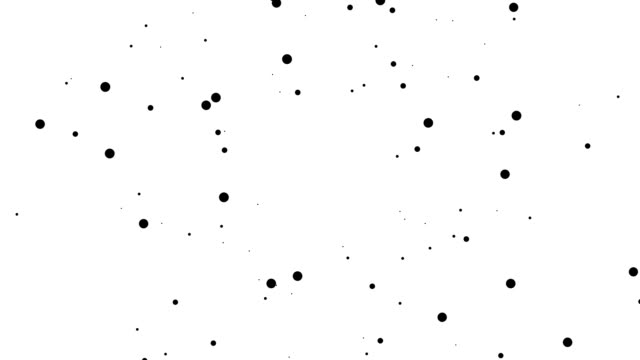 SQUARE - pure black dots: dense (TRANSITION) video