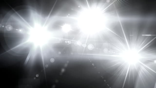 pure white Flash flare video