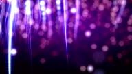purple confetti loop video