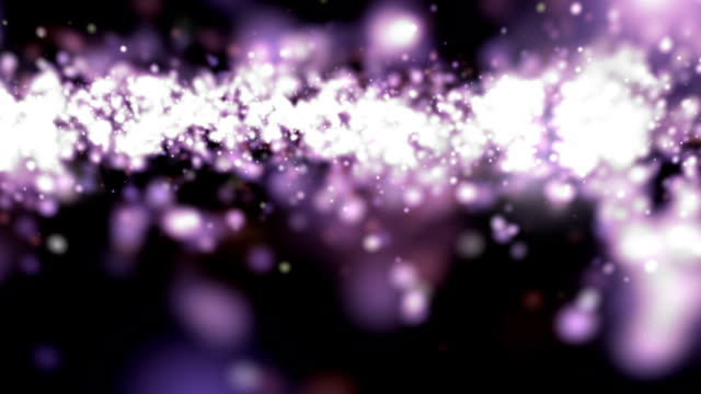 purple defocused particles video