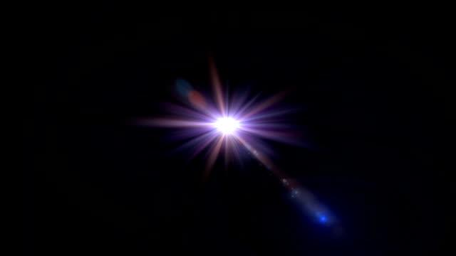 purple flare light expose video