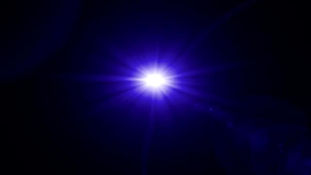purple flare rotate blue tune video