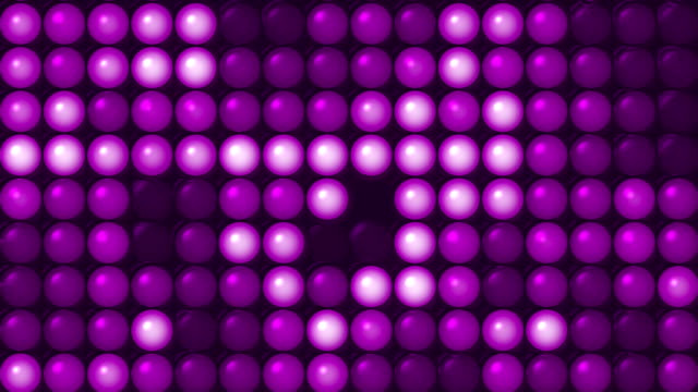 Purple Led Screen video