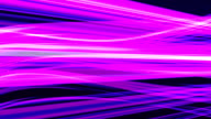 Purple light streaks abstract background animation video