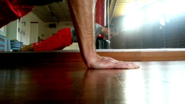 Push-ups - lower position video