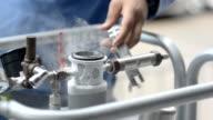 put o-ring on liquid nitrogen tank video