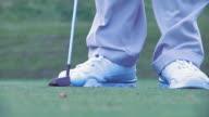 Putting Golfball video