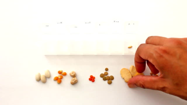 Putting Seeds into a Pill Box video
