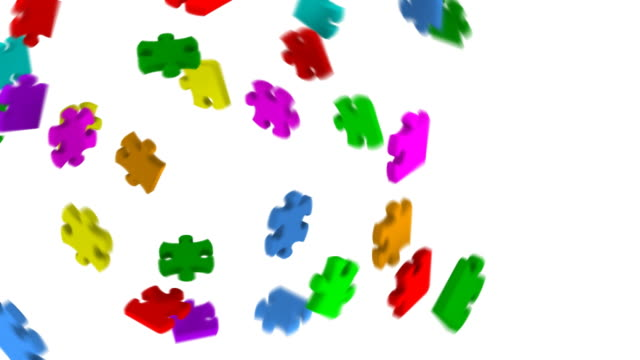 Puzzles in all colors (2 loops) video
