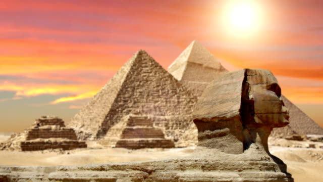 Pyramids And The Sphinx video