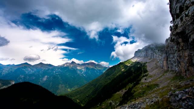TIME LAPSE: Pyrenees Mountains video