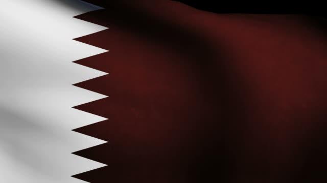 Qatar country flag video