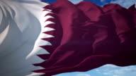 Qatar Flag video