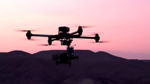 Quadrocopter in the Exploration Area video