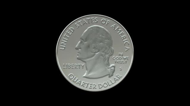 Quarter coin video