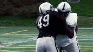 Quarterback gets sacked. video