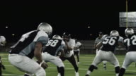 Quarterback gets the ball and passes video