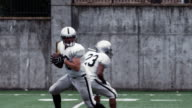 Quarterback passes the ball. video
