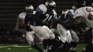Quarterback sacked video