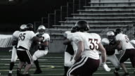 Quarterback throws a short pass video