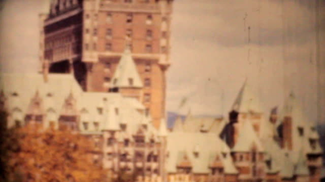 Quebec City And Saint Lawrence Seaway 1958-Vintage 8mm film video