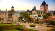 Quebec City skyline video