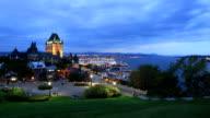 Quebec City time-lapse video