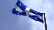 Quebec Flag video