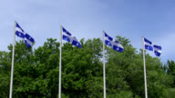 Quebec Flags video