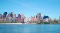 queensboro bridge manhattan start 4k time lapse from new york city video