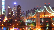 Queensboro Bridge time lapse video video