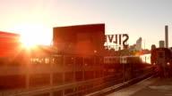 Queensboro Plaza Subway Arrival in New York City video