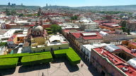 Queretaro Skyline Aerial view video