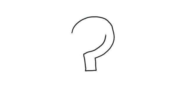 Question Mark Sketch video