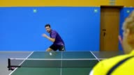 Quick Game of Table Tennis video