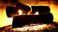 HD: Quiet Fireplace video