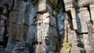 Quiet temple slider timelapse video