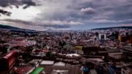 quito ecuador ciudad timelapse video
