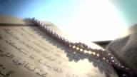 QURAN,Prayer Beads and Sunset video