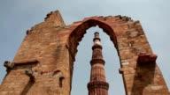 Qutub Minar in Delhi video