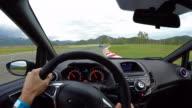 Race Car Driving video