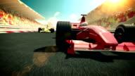 Racecars video