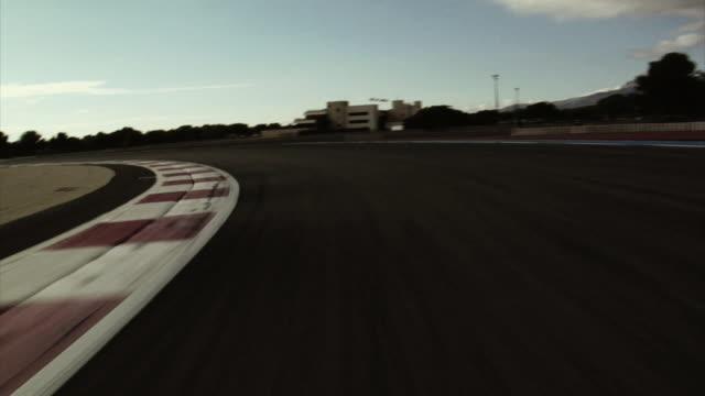 Racetrack video