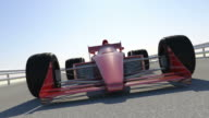 F1 Racing Car Finish Line With Close-Up Shots video