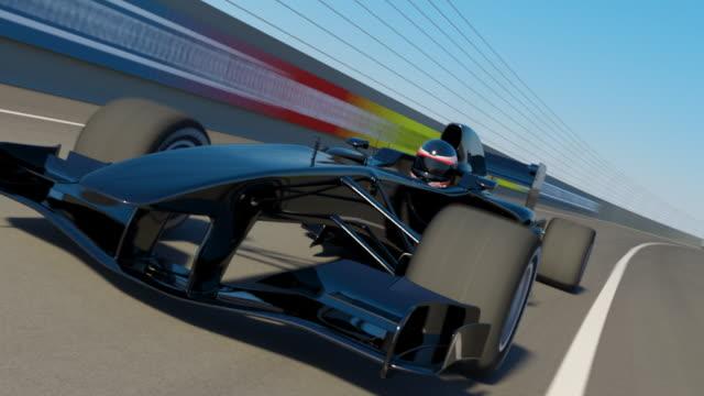Racing Car video