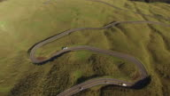Racing Down Winding Road Down Volcano video