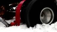 Racing kart Wheel slip video
